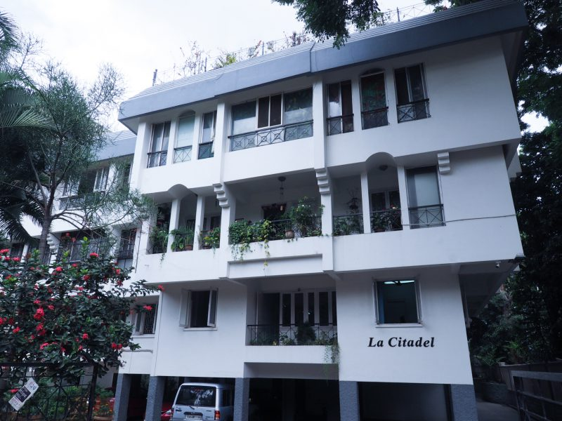 La Citadel, a residential property built by the Sona Valliappa Group