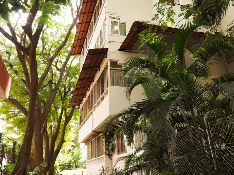 Sona Gardens, a residential property built by the Sona Valliappa Group